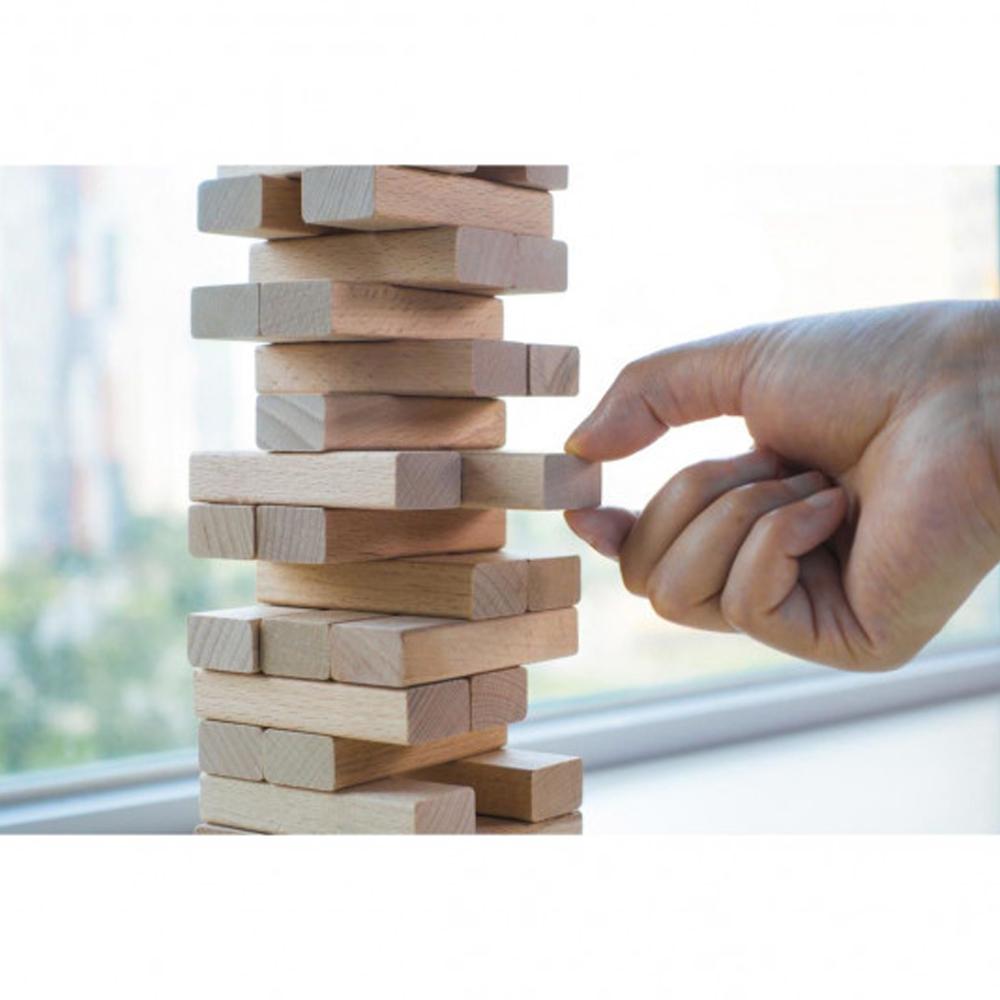 Joc de societate - Turnul instabil, 54 piese, AC 1006