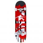 Skateboard din lemn FLOTT®, ABEC7, PU, 79 cm, Aluminiu, FSB1677-A