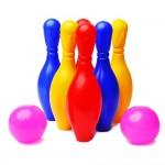 Set bowling de jucarie pentru copii cu 6 popice si 2 bile, MT 5192 RCO®