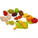 Set jucarii pentru copii fructe de taiat,15 piese VG 1004