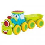 Set 6 tractorase cu remorca de jucarie pentru copii, WP 1011
